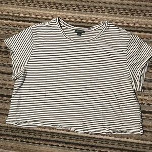 Wild Fable striped crop top